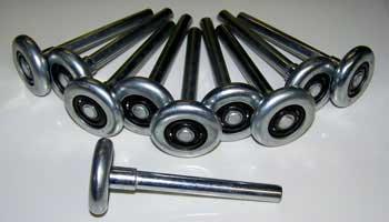garage door rollers replacement
